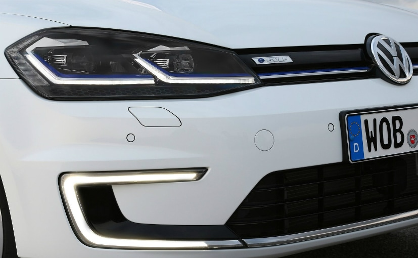 volkswagen egolf headlamp and grille