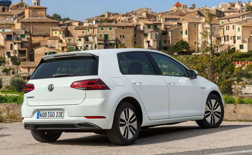 volkswagen egolf rear design