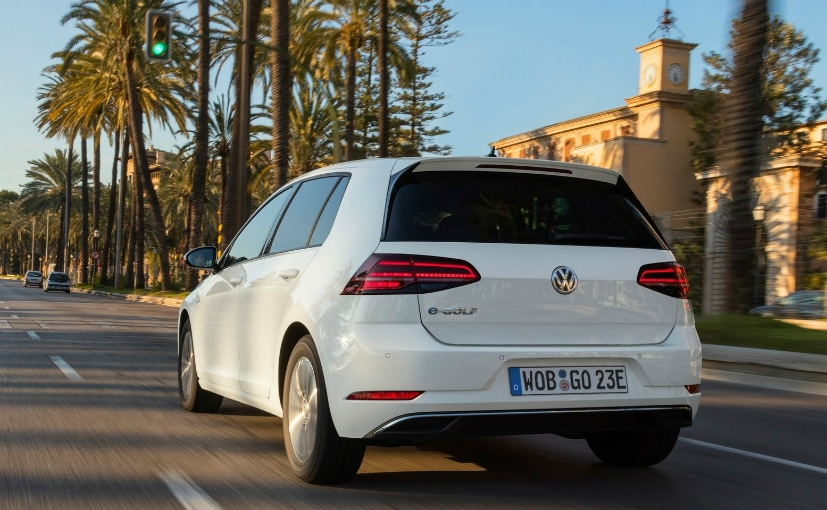 volkswagen egolf rear shot