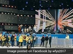 JNU Members Attend 19th World Youth Festival in Russia's Sochi