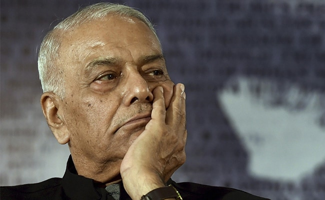 Yashwant Sinha Calls For 'Lokshakti' To Check 'Rajshakti'
