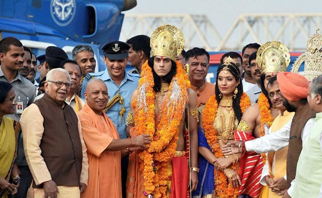 yogi adityanath ayodhya diwali pti
