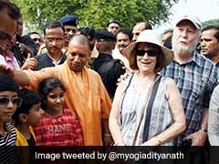 After Attack On Swiss Couple, Yogi Adityanath's Photos With Foreigners