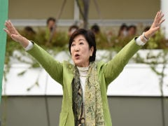 Meet Koike Who May Become Japan's First Female Prime Minister