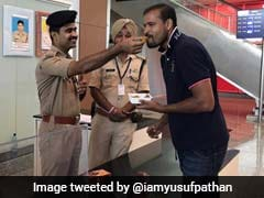 Yusuf Pathan Exchanges Sweets With Jawans, Twitterati Hail His Heart-warming Gesture