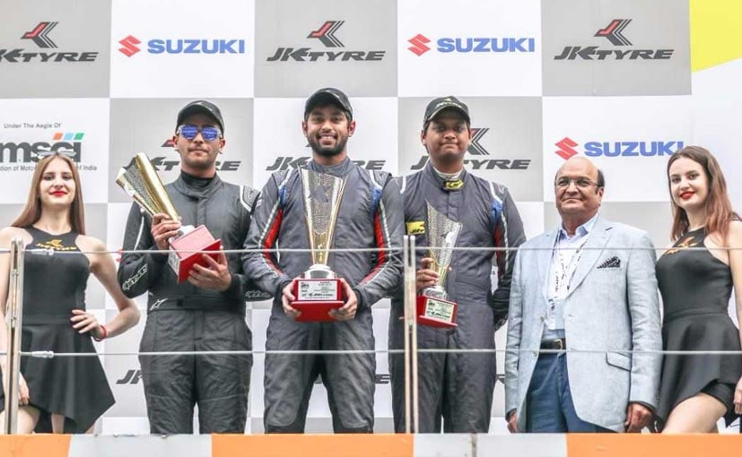 Hyderabad's Anindith Reddy is Euro JK 2017 racing champion