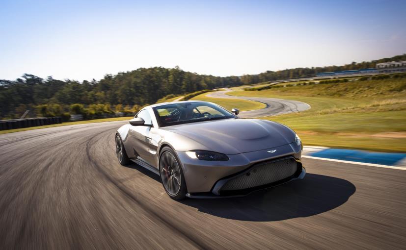 New Aston Martin >> New Aston Martin Vantage Unveiled Ndtv Carandbike