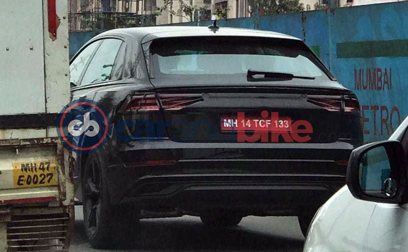 NearProduction Audi Q Spotted With Minimal Camouflage NDTV - Audi cars q8 price list