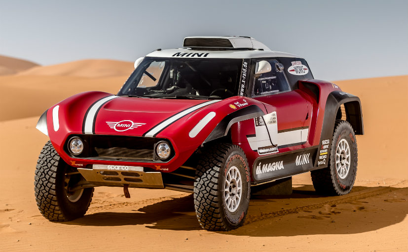 2018 dakar mini john cooper works buggy