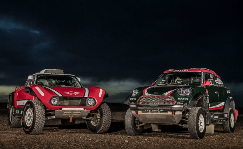 Mini Cooper and X-Raid have revealed their contenders for the 2018 Dakar Rally
