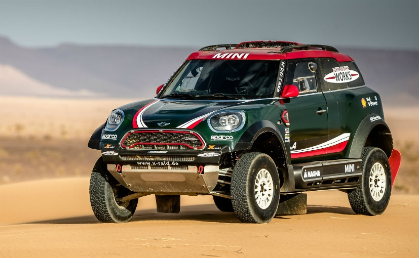 mini john cooper works and x raid reveal their contenders for the 2018 dakar rally ndtv carandbike. Black Bedroom Furniture Sets. Home Design Ideas