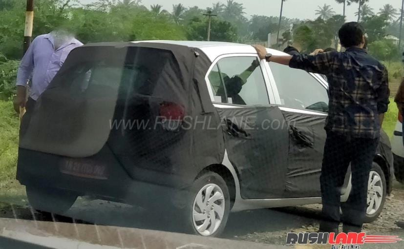 2018 Hyundai Santro Spotted In India Ndtv Carandbike