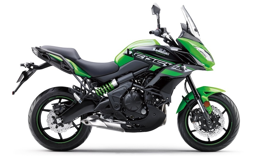 Changes on the 2018 Kawasaki Versys 650 are limited to new graphics