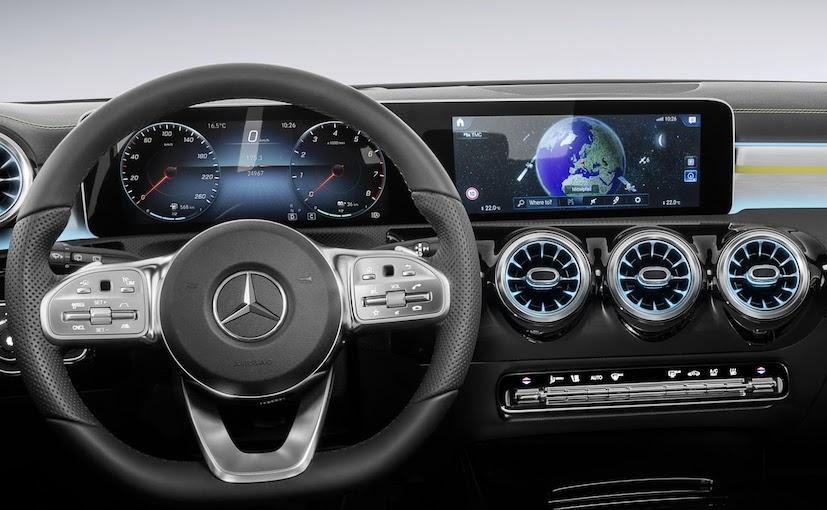 2018 Mercedes Benz A Class Interior Revealed Ndtv Carandbike
