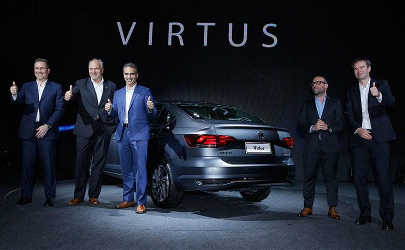 2018 Volkswagen Virtus Unveiled In Brazil Ndtv Carandbike