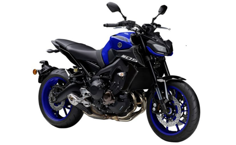 2018 yamaha mt 09 launched in india priced at rs lakh ndtv carandbike. Black Bedroom Furniture Sets. Home Design Ideas