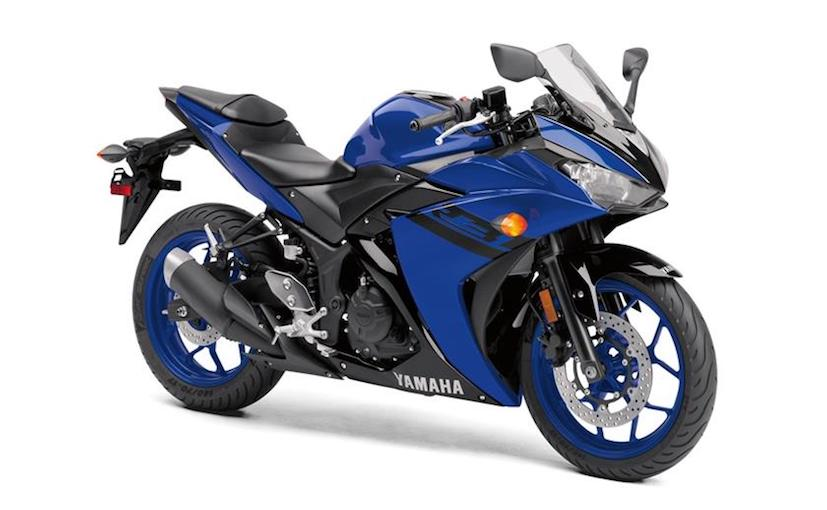 The 2018 Yamaha R3 gets three new colours on offer