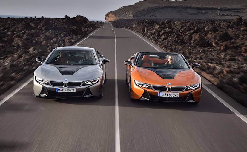 BMW i8 Roadster: This Is It, With Slightly More Horsepower and Range