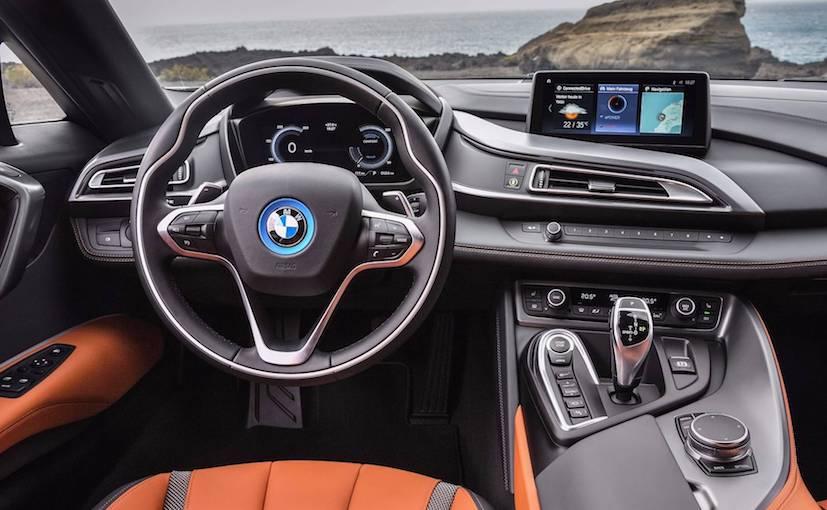 2019 bmw i8 interior