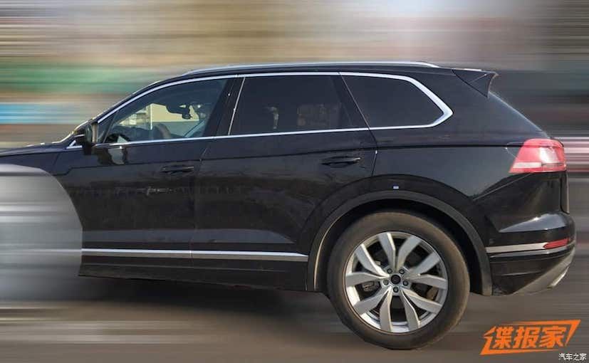 Next Generation Volkswagen Touareg Spied Testing In China