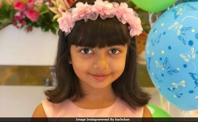 Amitabh Bachchan shares adorable photos of 6-year-old birthday girl Aaradhya