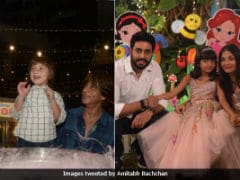 Inside Aaradhya Bachchan's Birthday Party With Her Pal AbRam. Amitabh Bachchan's Pics