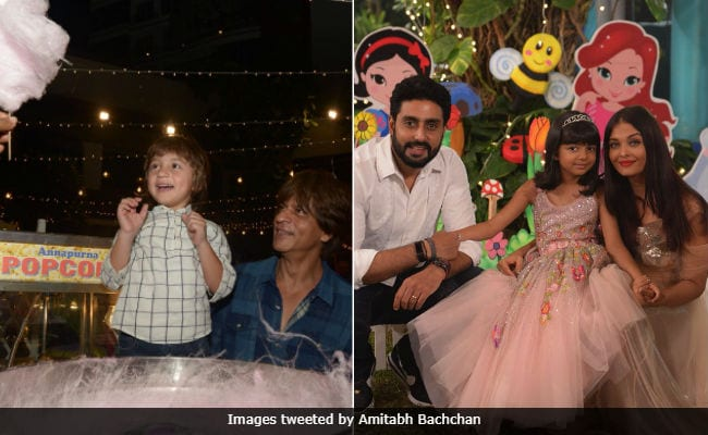 Abram Thinks Amitabh Bachchan Is Shah Rukh Khan's Father