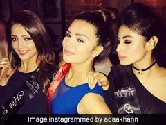 Inside Photos: टीवी एक्ट्रेस की Bachelorette में दिखा 'नागिन' का ग्लैमर