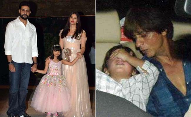 Viral Video: आराध्या बच्चन की पार्टी में शाहरुख खान बन गए बच्चे, अबराम के साथ यूं झूलने लगे झूला