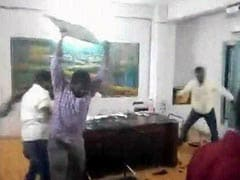 ABVP Activists Arrested For Vandalising Hyderabad College Office