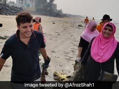 Don't Stop, Says Aditya Thackeray To Man Ending Mumbai Beach Clean-Up