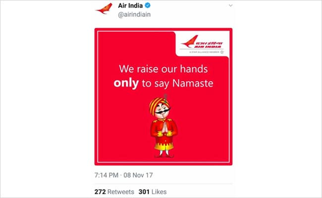 air india mocks indigo 650 twitter