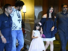 Inside Aaradhya's Birthday Bash With Aishwarya, Abhishek And Amitabh Bachchan. See Pics