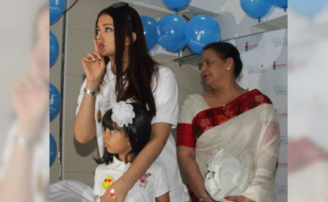 Aishwarya Rai Bachchan announces her father's birthday as 'Day Of Smiles'.