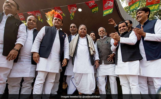 On Birthday, Mulayam Singh Says, 'Akhilesh Yadav My Son First, A Leader Later'