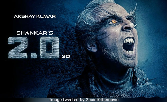 Akshay Kumar's 2.0 Posters Getting Scarier With Each Passing Day