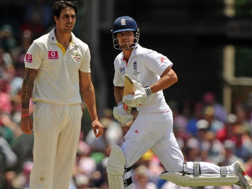 The Ashes: Alastair Cook Dismisses