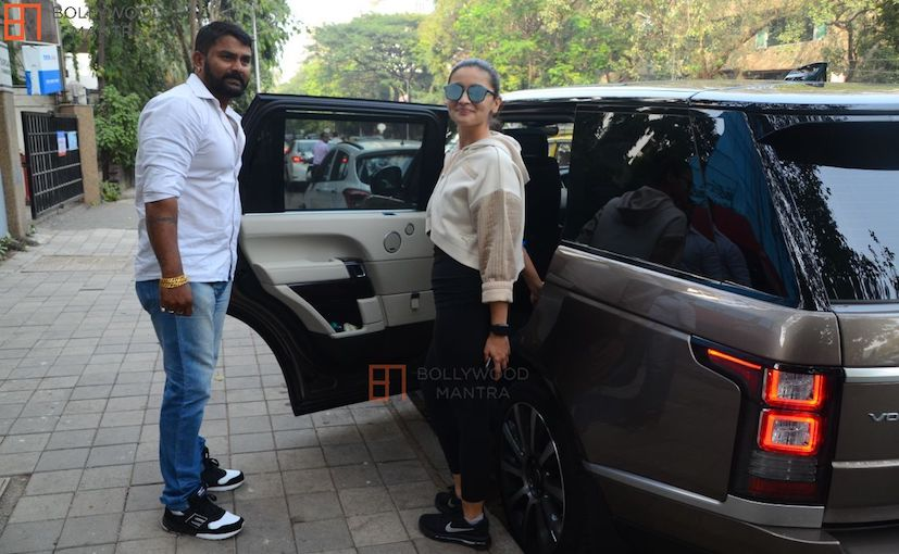Actor Alia Bhatt Upgrades To A Range Rover Vogue Luxury SUV