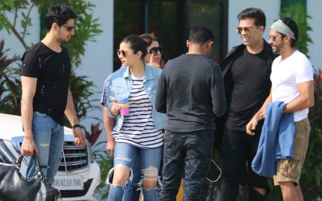 Alia Bhatt, Sidharth Malhotra Are Trending, Courtesy Shah Rukh Khan's Alibaug Party