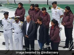 All-Women Crew Sailboat Of Indian Navy Reaches New Zealand