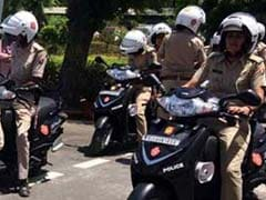 Noida Gets Scooter-Borne Police Patrol Units To Provide Women Safety