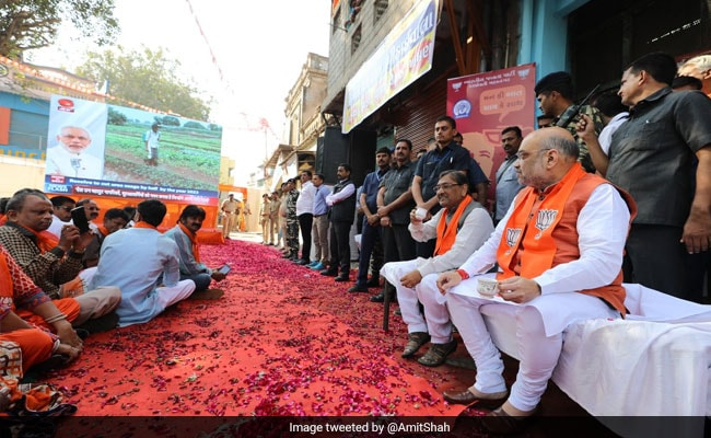 For Amit Shah And Ministers, 'Mann Ki Baat' Over Tea In Gujarat: 10 Points