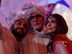Aishwarya, Aaradhya And Shweta Bachchan Fill Up Amitabh Bachchan's Family Wedding Album