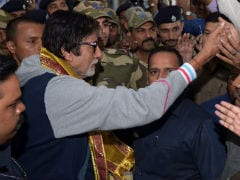 The Wheel Of Amitabh Bachchan's Car Came Off On Way To Kolkata Airport. But Don't Worry, He's OK