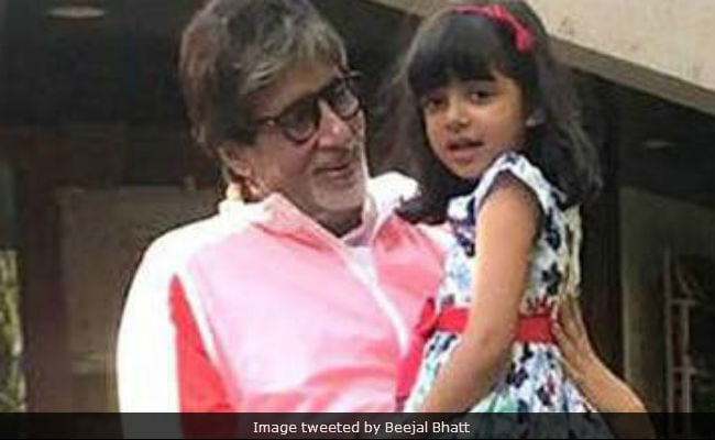 To Aaradhya Bachchan, 6 Today, With Love From Grandfather Amitabh Bachchan