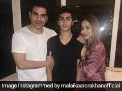 मलाइका अरोड़ा ने Ex Husband अरबाज खान के साथ मिलकर मनाया बेटे का Birthday