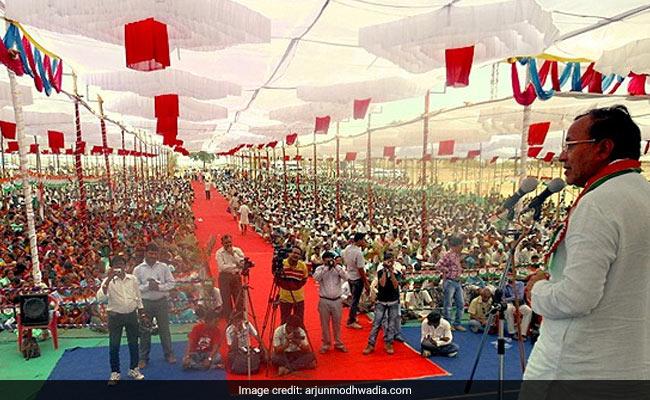 अर्जुन मोडवाडिया : कांग्रेस में जान फूंकने का कर रहे काम