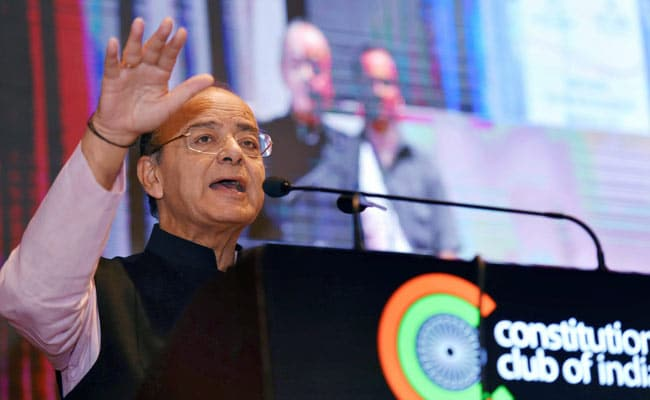 Jaitley rules out single GST rate, says further rationalisation possible