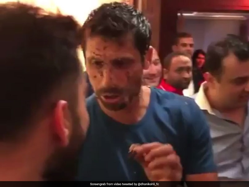Ashish Nehra Gets His Face Smeared With Cake At Farewell Party