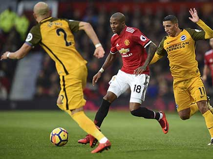 Premier League: Ashley Young Helps Manchester United Register Narrow Win, Tottenham Hotspur Held By West Brom
